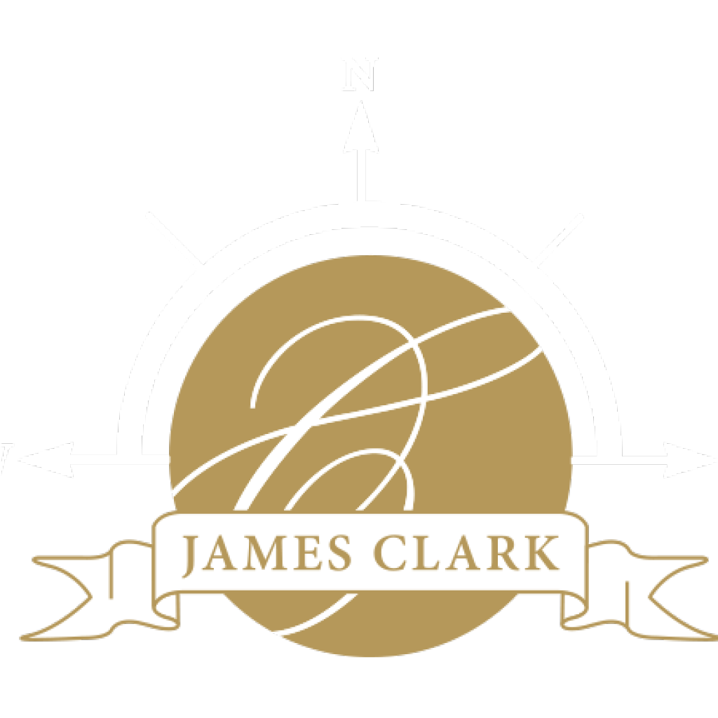 james-clark-logo-hvit