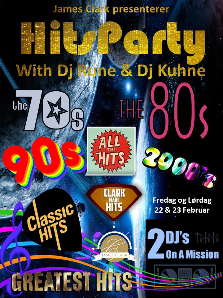 HitsParty med Dj Rune og Dj Kuhne :)