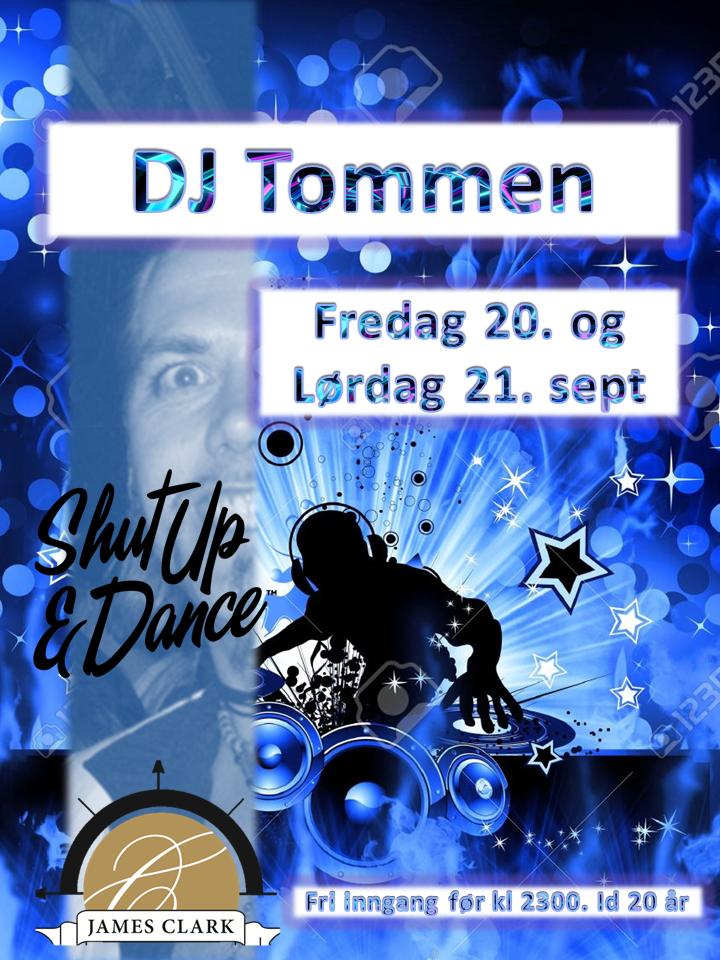Shut up and dance med Dj Tommen
